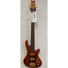 Schecter Guitar Research Stiletto Studio 5 String Fretless Electric Bass Guitar