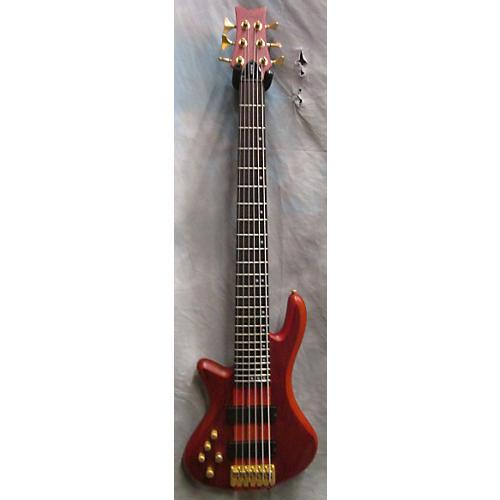 Schecter Guitar Research Stiletto Studio 6 String Electric Bass Guitar-thumbnail