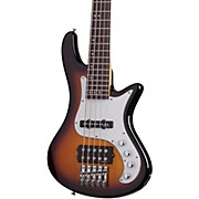 Schecter Guitar Research Stiletto Vintage-5 Five-String Electric Bass Guitar