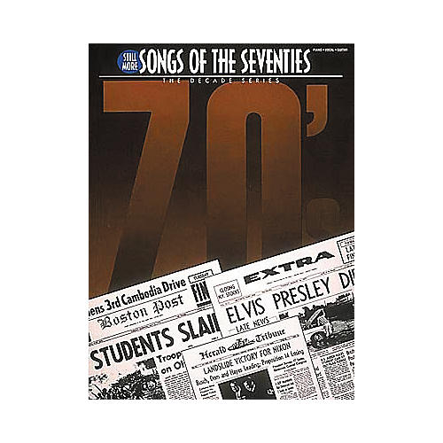 Hal Leonard Still More Songs Of The 70's Piano/Vocal/Guitar Songbook-thumbnail