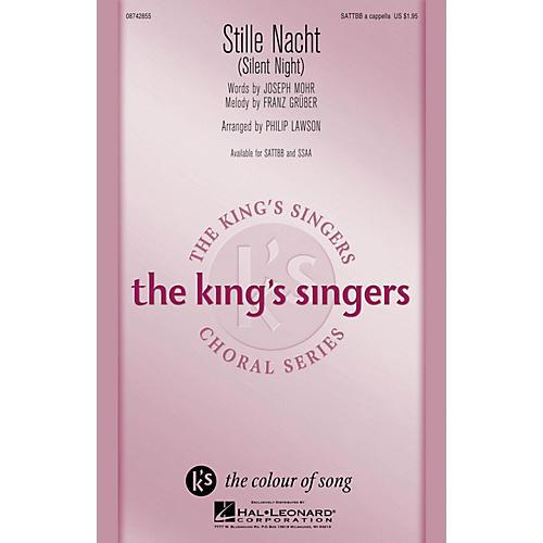 Hal Leonard Stille Nacht (Silent Night) SATTBB A Cappella arranged by Philip Lawson