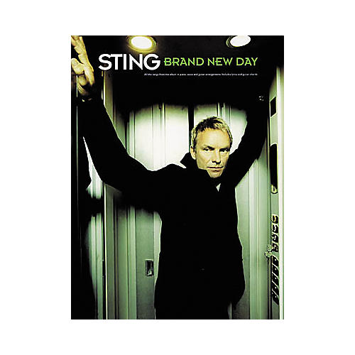 Hal Leonard Sting - Brand New Day Piano/Vocal/Guitar Artist Songbook