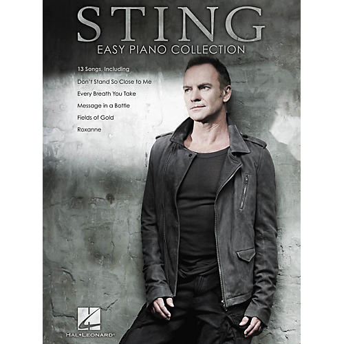 Hal Leonard Sting - Easy Piano Collection-thumbnail