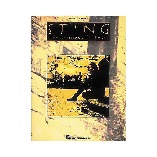 Hal Leonard Sting - Ten Summoner's Tales Songbook