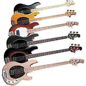 ernie ball music man stingray 4 string electric bass guitar black rosewood fretboard guitar center. Black Bedroom Furniture Sets. Home Design Ideas