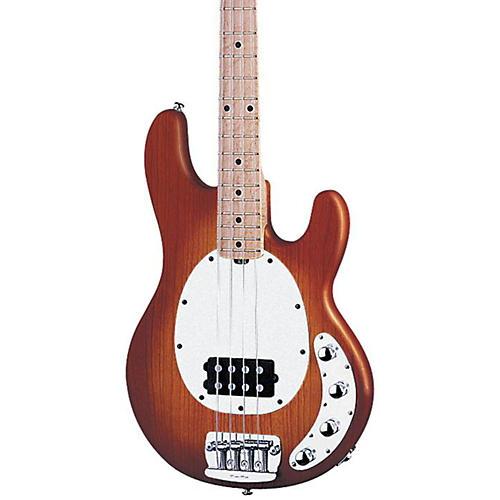 Ernie Ball Music Man StingRay 4-String Electric Bass Guitar Honey Sunburst Maple Fretboard