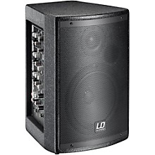 LD Systems Stinger Mix 6 A G2 Powered 2-Way PA Speaker with Integrated 4 -Channel Mixer