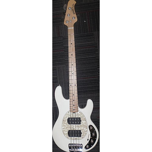 Ernie Ball Music Man Stingray 4 String Electric Bass Guitar Antique White