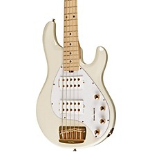 Ernie Ball Music Man Stingray 5 HH 5-String Electric Bass Level 1 India Ivory Maple Fretboard