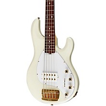 Ernie Ball Music Man Stingray 5 HH 5-String Electric Bass Level 1 India Ivory Rosewood w/Matching Headstock