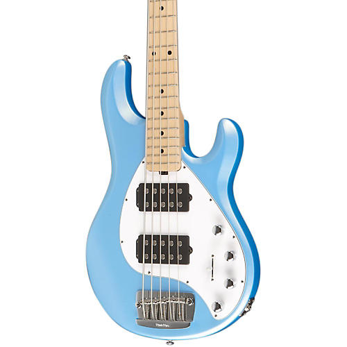 ernie ball music man stingray 5 hh 5 string electric bass sky blue maple fretboard guitar center. Black Bedroom Furniture Sets. Home Design Ideas