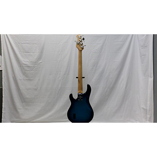 used ernie ball music man stingray 5 string electric bass guitar metallic blue burst guitar center. Black Bedroom Furniture Sets. Home Design Ideas