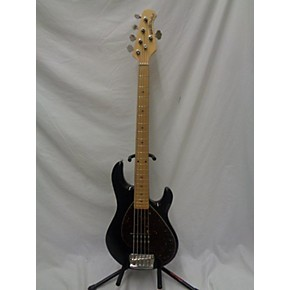 used ernie ball music man stingray 5 string electric bass guitar black guitar center. Black Bedroom Furniture Sets. Home Design Ideas