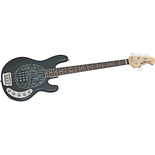 Ernie Ball Music Man Stingray Bass Guitar With Humbucker/Piezo Pickups