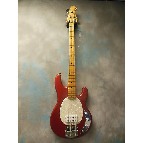 Ernie Ball Music Man Stingray Classic 4 String Electric Bass Guitar Candy Apple Red