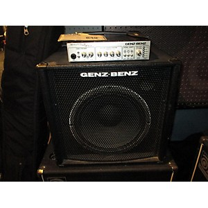 Pre-owned Genz Benz Stl 12t Stack Bass Stack by Genz Benz
