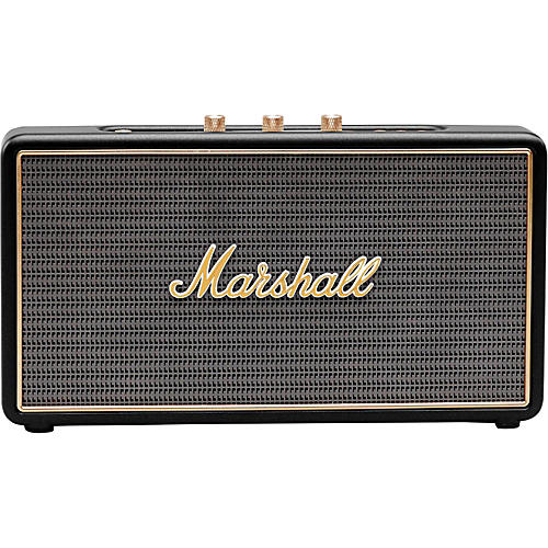 Marshall Stockwell Portable Bluetooth Speaker with Flip Cover Black
