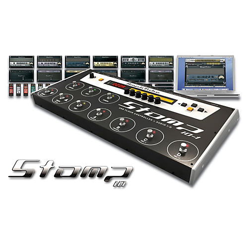 IK Multimedia StompIO Amplitube Stage Controller And Audio Interface