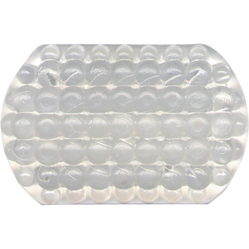 Super Sensitive Stoppin Endpin Floor Protector Small Clear