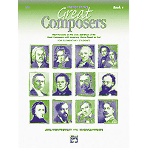 Alfred Stories of Great Composers Book and CD-thumbnail