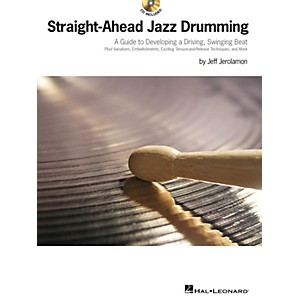 Hal Leonard Straight-Ahead Jazz Drumming Drum Instruction Series Softcover ...