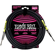 Ernie Ball Straight Instrument Cable - Black