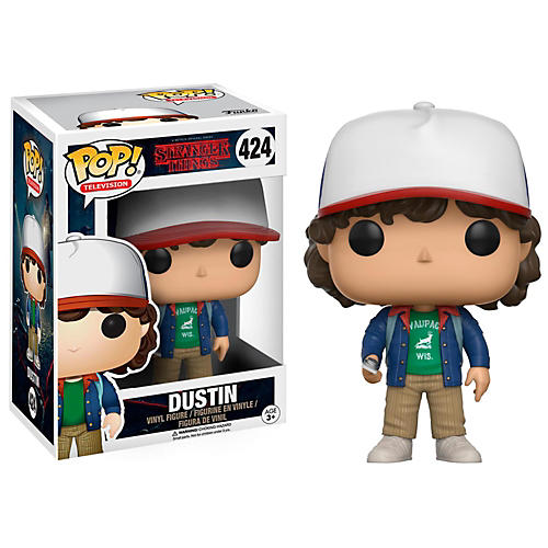 Funko Stranger Things Dustin with Compass Pop! Vinyl Figure-thumbnail