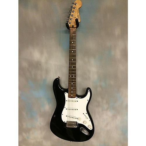 Fender Strat Black Solid Body Electric Guitar