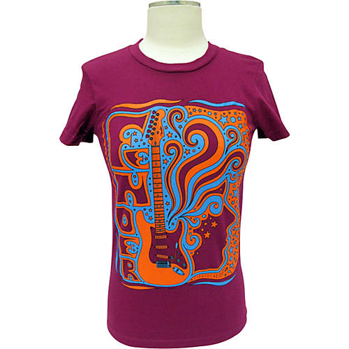 Fender Strat Face Ladies T-Shirt
