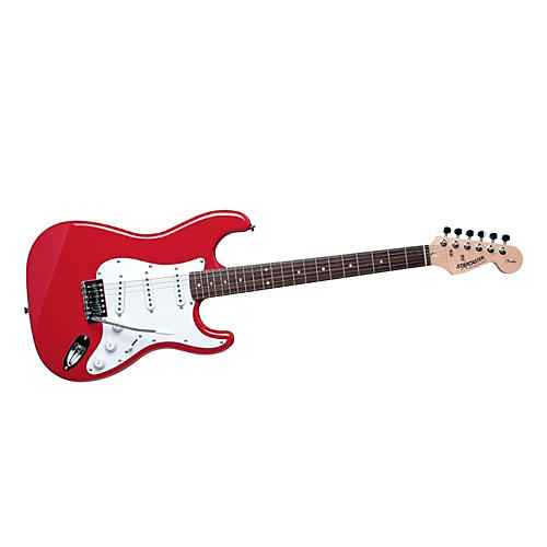 Starcaster by Fender Strat Fiesta Red