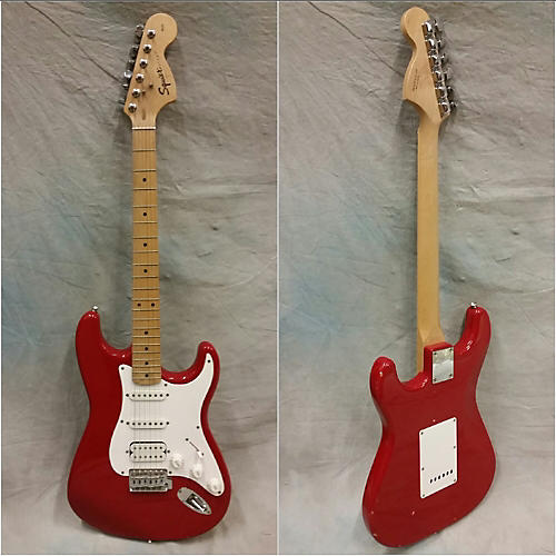 Squier Strat HSS Solid Body Electric Guitar-thumbnail
