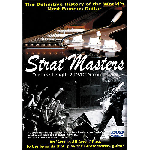 Hal Leonard Strat Masters - The Definitive History of the World's Most Famous Guitar (2-DVD Set)-thumbnail