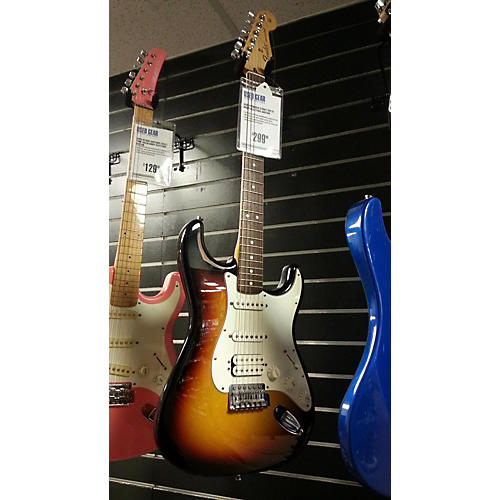 Fender Strat Solid Body Electric Guitar-thumbnail