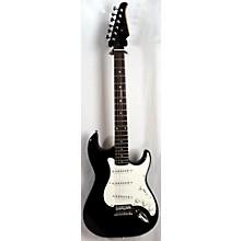 Silvertone Strat Solid Body Electric Guitar