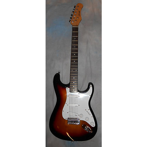 Stagg Strat Style Solid Body Electric Guitar-thumbnail