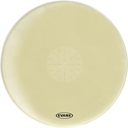 Evans Strata 1400 Orchestral-Bass Drumhead with Power Center Dot-thumbnail