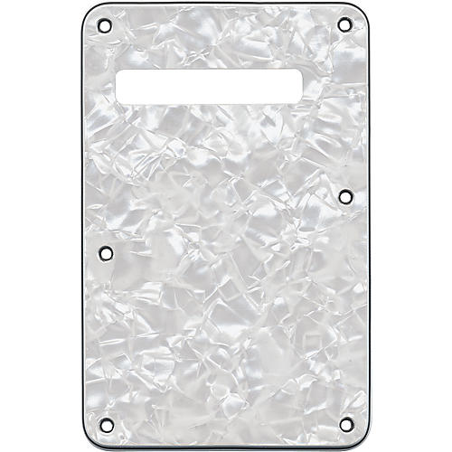 Fender Stratocaster Back Plate Tremolo Cavity Cover Pearl White
