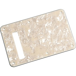 Fender Stratocaster Backplate Aged White Pearl by Fender