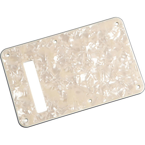 Fender Stratocaster Backplate Aged White Pearl-thumbnail