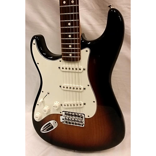 Fender Stratocaster Left Handed Mim Solid Body Electric Guitar-thumbnail