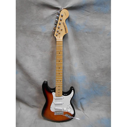 Starcaster by Fender Stratocaster Solid Body Electric Guitar-thumbnail