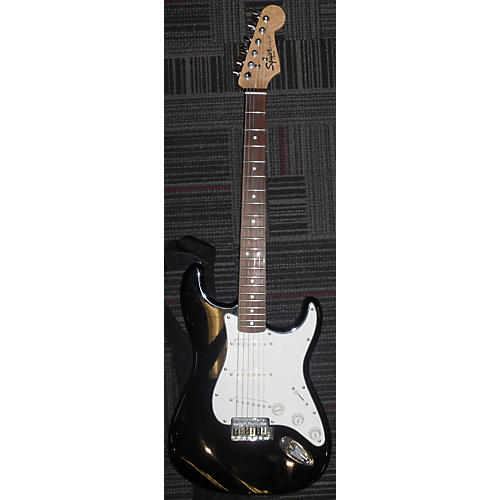 Squier Stratocaster Solid Body Electric Guitar Black