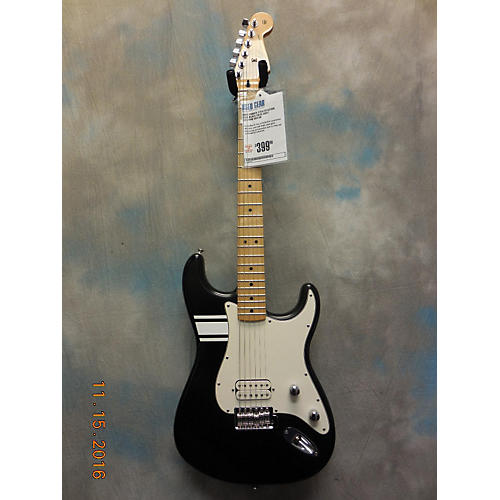 Fender Stratocaster Solid Body Electric Guitar Flat Black