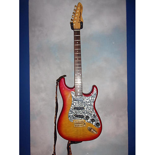 JB Player Stratocaster Solid Body Electric Guitar-thumbnail