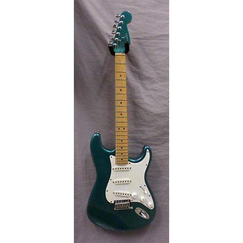 Fender Stratocaster With Matching Headstock Solid Body Electric Guitar Tropical Turquoise