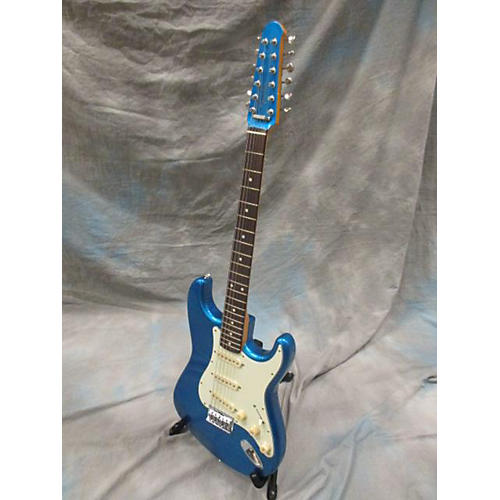 Fender Stratocaster XII Lake Placid Blue Solid Body Electric Guitar-thumbnail