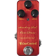 One Control Strawberry Red Overdrive Effects Pedal
