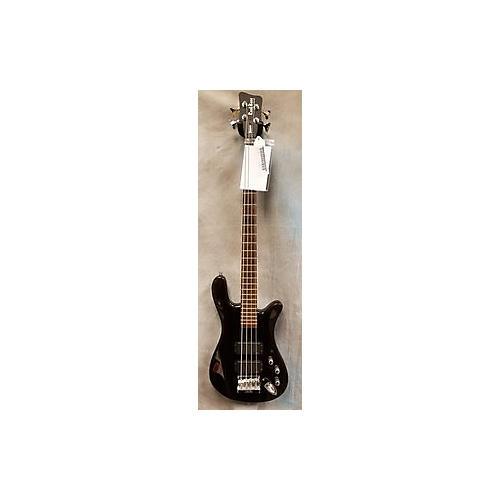 RockBass by Warwick Streamer Electric Bass Guitar Black