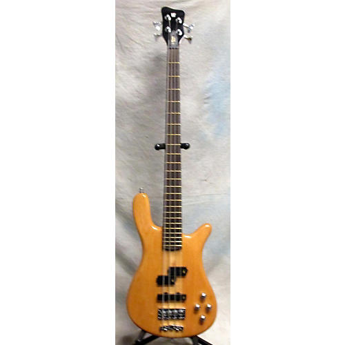 Warwick Streamer Stage I 4 String Electric Bass Guitar Natural