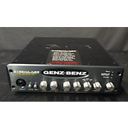 Genz Benz Streamliner 600 Bass Amp Head